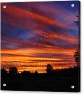 Sunset 2   09 22 12 Acrylic Print