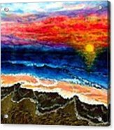 Sunset After the Storm Acrylic Print