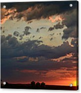 Sunset After The Thunderstorm Acrylic Print
