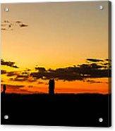 Sunset Arches Acrylic Print