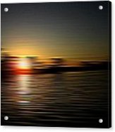 Sunset Art 1 Acrylic Print