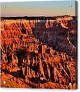 Sunset At Cedar Breaks Acrylic Print