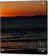 Sunset At Freemantle Acrylic Print