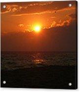 Sunset At Madaket Beach - Nantucket Acrylic Print