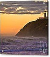 Sunset At North Head II Acrylic Print