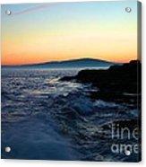 Sunset At Schoodic Acrylic Print
