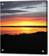 Sunset Bar Harbor Maine Acrylic Print