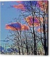 Sunset Cloud Colors 10 Acrylic Print