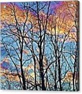 Sunset Cloud Colors  4 Acrylic Print