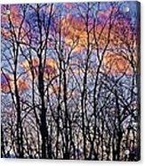 Sunset Cloud Colors 9 Acrylic Print