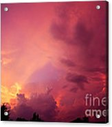 Sunset Color Acrylic Print