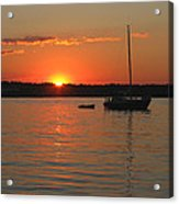 Sunset Cove Acrylic Print