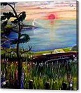 Sunset Cruisin' Acrylic Print