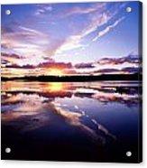 Sunset, Dinish Island Kenmare Bay Acrylic Print