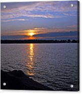 Sunset Egg Harbor Acrylic Print