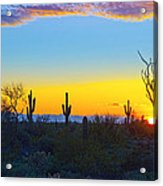 Sunset For You Acrylic Print