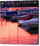 Sunset Harbor Acrylic Print