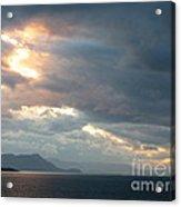 Sunset In Alaska Acrylic Print