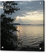 Sunset In Door County Acrylic Print
