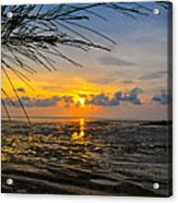 Sunset In Jeram Acrylic Print