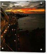 Sunset In Paradise Acrylic Print