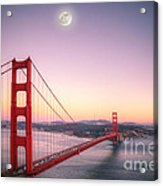 Sunset In San Francisco Acrylic Print