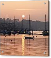 Sunset In The Harbor Crosshaven County Acrylic Print