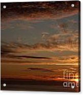 Sunset In The Pacific Ocean 3 Acrylic Print