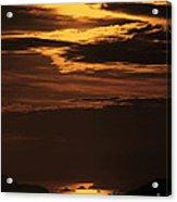 Sunset Ipanema  Acrylic Print
