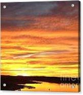 Sunset Lake Travis Acrylic Print
