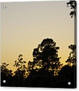 Sunset Landscape Acrylic Print