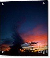 Sunset Leeward Oahu Acrylic Print
