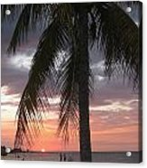 Sunset Montego Bay Acrylic Print