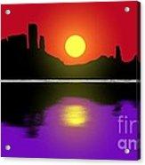 Sunset No. 3 Acrylic Print