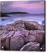 Sunset Of The Atlantic Ocean Acrylic Print