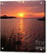 Sunset On Eagle Harbor Acrylic Print