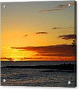 Sunset On Kauai Acrylic Print
