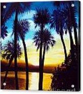 Sunset on the Banana River Acrylic Print