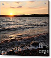 Sunset On The Bay Of Fundy Acrylic Print