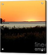 Sunset On The Chesapeake Acrylic Print