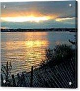 Sunset Over Cedar Creek Acrylic Print