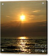 Sunset Over Lake Erie 3 Acrylic Print