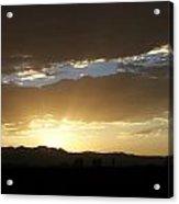 Sunset Over Mt Charleston Acrylic Print