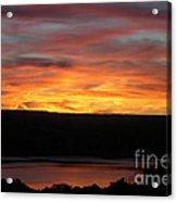 Sunset Over Seneca Lake Acrylic Print