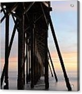 Sunset Pier California 3 Acrylic Print
