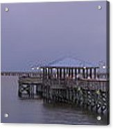 Sunset Point Pier Acrylic Print