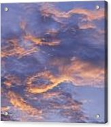 Sunset Sky Over Nipomo, California Acrylic Print
