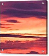 Sunset Skyscape Acrylic Print