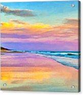 Sunset South Of Todos Santos Acrylic Print