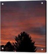 Sunset Spirit In The Sky Acrylic Print